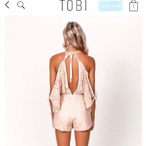 Tobi Other - TOBI southern pink romper